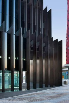 RCR Arquitectes  edificio de oficinas . l'hospitalet