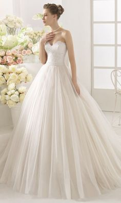 Wedding dress idea; Featured Dress: Aire Barcelona