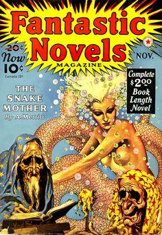 Virgil Finlay : Fantastic Novels magazine, Nov. 1940