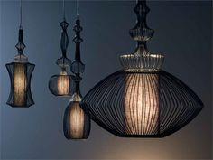 Iron Pendant lamp WIRE by Elite Design Nada Lin