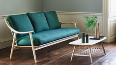 Ercol presents steam-bent wood furniture by Dylan Freeth at Milan design week