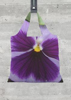 Foldaway Tote - Fairy Flowers by VIDA VIDA FP3VBK