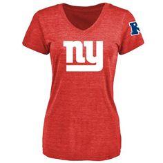 Women's New York Giants Design Your Own V-Neck Tri-Blend T-Shirt - $39.99