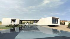 Villa contemporaine: Maisons de style de style Moderne par ARRIVETZ & BELLE