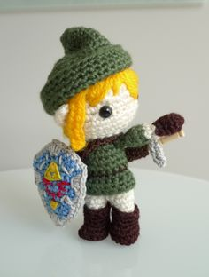 Again, I can't make this, but I love it. It goes so well with the cute crocheted dragon I pinned on this board also.