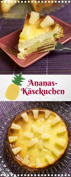 Fruchtig und würzig zugleich der Ananas Käsekuchen. Der Käsekuchen wird noch zusätzlich mit Ingwer gewürzt. Das Rezept ist wie immer sehr ausführlich und für Backanfänger geeignet.