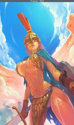 Check out this awesome piece by Franner Wong on #DrawCrowd