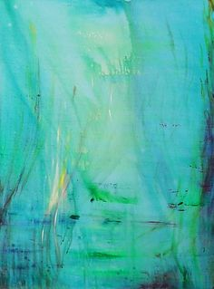 Unterwasserwelt, Öl auf Leinwand, B001, 70x50