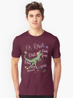'T-Rex Christmas Dinosaur - Dinosaur Christmas' T-Shirt by TurtlesSoup Savage Mode, Gleyber Torres, Dad Jokes, Funny Tees, T Rex, Tshirt Colors, Chiffon Tops, V Neck T Shirt, Classic T Shirts