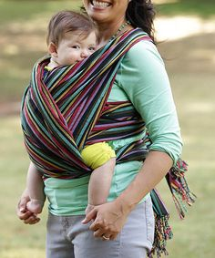 This Jungle Woven Hip Baby Wrap is perfect! #zulilyfinds