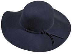 Eleganter Damenhut, Merino Qualität, sehr breite Krempe, farblich passendes Hutband, Metallabzeichen School 2017, Summer School, Elegant, Hats, Fashion, Felt Hat, Badge, Classy, Moda
