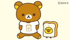 Rilakkuma bakery collection ( ◠‿◠ )