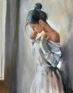 Figurative Paintings by polish painter Emilii Wilk