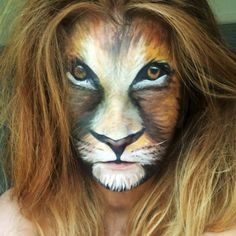 Skulls, Lions And The Super Mario Brothers: Amazing Transformations Of A Young Make-Up Artist - Yahoo Lifestyle UK