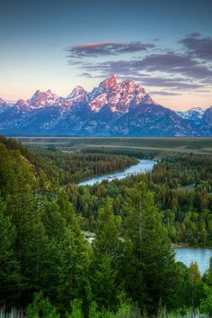 Snake River, Grand Teton National Park, Wyoming -Already been here, but would love to go again!!