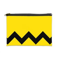 """Nice Black Wave 9"""" x 6"""" Cosmetic Bag 9"""" x 6"""" Cosmetic Bag White/Black... (4.536 KWD) ❤ liked on Polyvore featuring beauty products, beauty accessories, bags & cases, makeup bag case, purse makeup bag, travel kit, cosmetic purse and dop kit"""