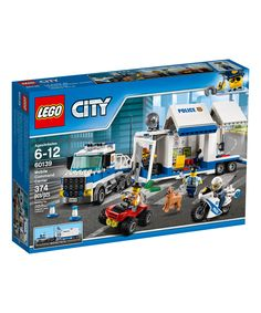 Take a look at this LEGO® City Police Mobile Command Center Building Set today!