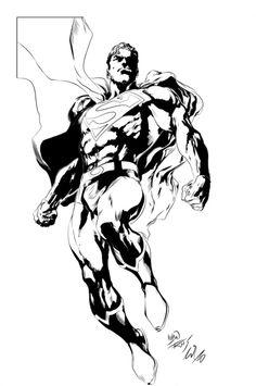 Superman by Ivan Reis