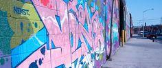 Graffiti on the streets of Bushwick - Neighborhood Colors - Nalata Nalata