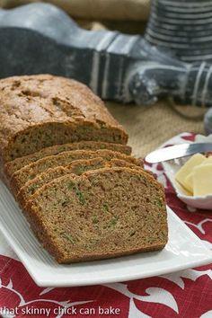 Zucchini Bread | Classic, cinnamon spiced zucchini bread recipe