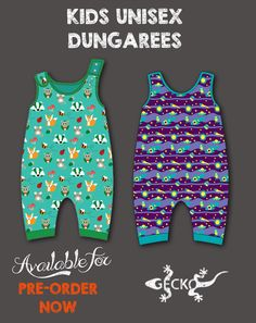 So excited to be offering our first designs to you jubbly lot cosines at its best with the snuggly pups Dungarees, Rockets, One Design, Foxes, Mice, Organic Cotton, Pup, Unisex, Lady
