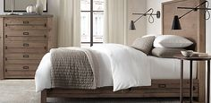 Early 20th C. Mercantile Bedroom Collection Natural | Restoration Hardware