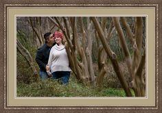 Engagement Photos at Fort Worth Botanic Gardens