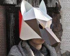 Cabeza de elefante máscara de creación de por SmagaProjektanci