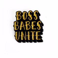 """Boss Babes"" Pin"