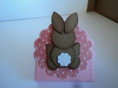 Nugget Mini Bunnies by candee porter - Cards and Paper Crafts at Splitcoaststampers Fall Crafts, Easter Crafts, Crafts For Kids, Easter Projects, Easter Ideas, Holiday Crafts, Punch Art Cards, Paper Punch, Creative Box