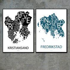 Kristiansand og Fredrikstad