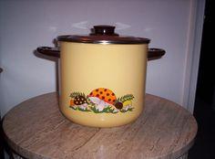 Vintage Retro Sears Merry Mushroom Multi Purpose Stock Soup  Crabs Pot