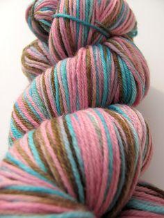YUM yarn -   icecream shades  super wash merino cashmere nylon
