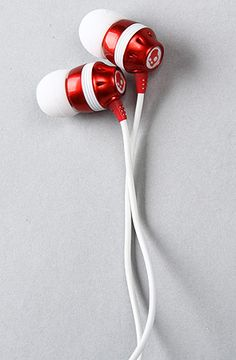 The In-Ear Inkd Skull Candy Apple Red Oliver Headphones - PLNDR SALE - 10% OFF Use RepCode: RE15471 @ Checkout! Never Expires!