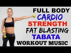 Cardio Weights Workout, Cardio Strength Workout, Full Body Workout Video - YouTube