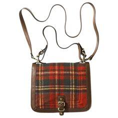 Merona® Plaid Square Crossbody - My style, and my tartan! Plaid Purse, Tartan Plaid, Orange Handbag, Orange Purse, Target Purse, Preppy Girl, Fall Handbags, Classic Style, My Style