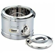 Anupam Hot Pot 5 Litre - Anupam Stainless Steel Hot Pot 5 Litre is made from very high quality stainless steel raw material which ensures high durability at its user end. Dining Products, Hot Pot, Stainless Steel Kitchen, Dinnerware Sets, Raw Materials, Rice Cooker, Allrecipes, Kitchen Dining, House
