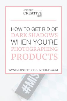 How to get rid of dark shadows when you're photographing products | So a few weeks ago, I did some research, and I ordered some photography props. After my props arrived, I immediately started testing them. And the results are so amazing! That is why I will share them with you in my blog post