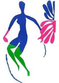Nu Bleu V, Matisse.