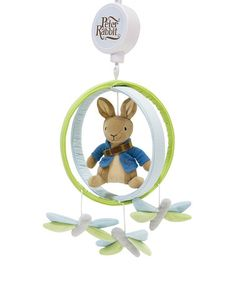 Another great find on #zulily! Peter Rabbit Musical Mobile by Peter Rabbit #zulilyfinds