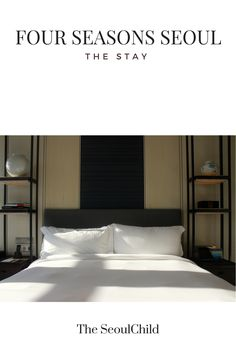 Check out the beautiful Four Seasons Hotel in Seoul!