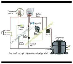 Basic Electrical Engineering, Power Engineering, Home Electrical Wiring, Electrical Circuit Diagram, Double Door Refrigerator, Hvac Air Conditioning, Refrigeration And Air Conditioning, Hvac Filters