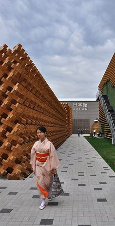 The Japan Pavilion spreads over an exhibition area of 4,170 square meters (44,885 sq ft)