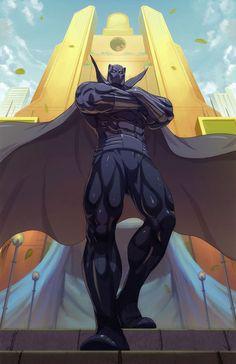 Black Panther Commission  byEduardo Bromhbley  Deviant Art || Website