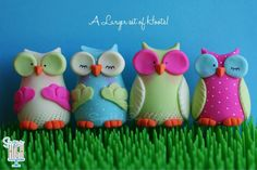 Super cute owls by Sugar High, love love love them!!!