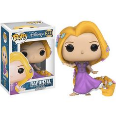 This is a Disney Tangled POP Rapunzel Vinyl Figure that is produced by Funko. This Rapunzel POP Vinyl features Rapunzel in her princess gown. It's always great to see a Disney Princess POP Disney Pop, Disney Rapunzel, Tangled Rapunzel, Princess Rapunzel, Disney Princesses, Princess Gowns, Punk Disney, Princess Bubblegum, Funk Pop