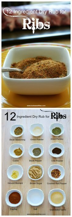 Kitchen Hacks: 12 Ingredient Dry Rub for Ribs - Toot Sweet 4 Two , Dry rub for ribs is an easy way to add another layer of flavor to your summer grilling. And why run out and buy a special dry rub mix at the grocery.