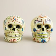 Going to paint these on dollar tree skulls