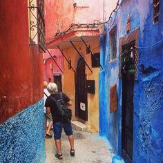 Barevné Maroko! #tanger #tangier #maroko #morocco #afrika #africa #cestovani #cestujeme #dnescestujem #travel #traveling #travelling #sbatuzkem #street #color #likepicture