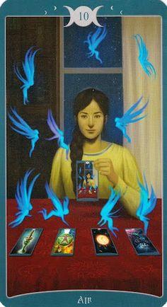 Tiết lộ Lá 10 of Air - Book of Shadows Tarot (As Above) bài tarot Xem thêm tại http://tarot.vn/la-10-air-book-shadows-tarot/
